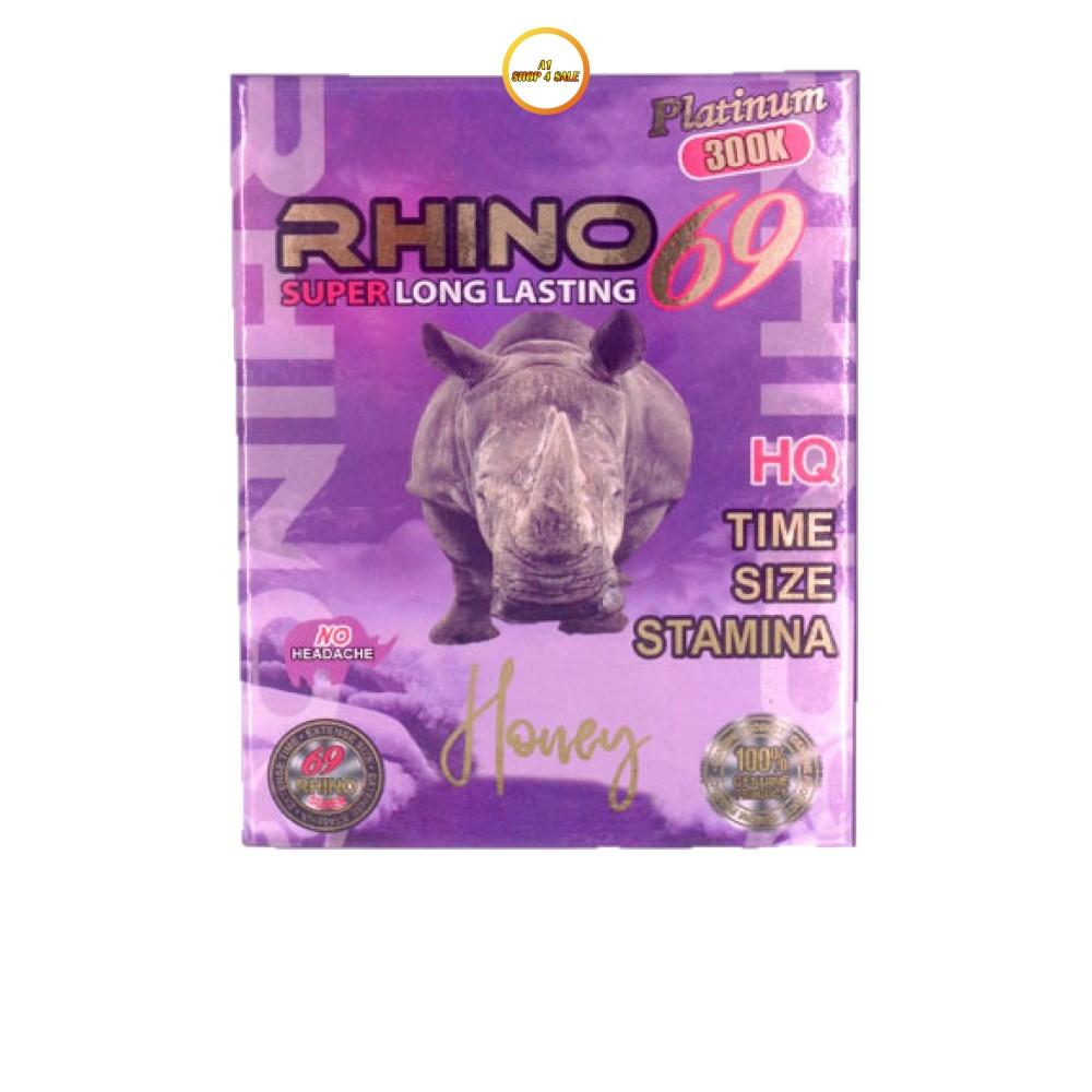 Rhino 69 300K Honey 5 Sachet Pack