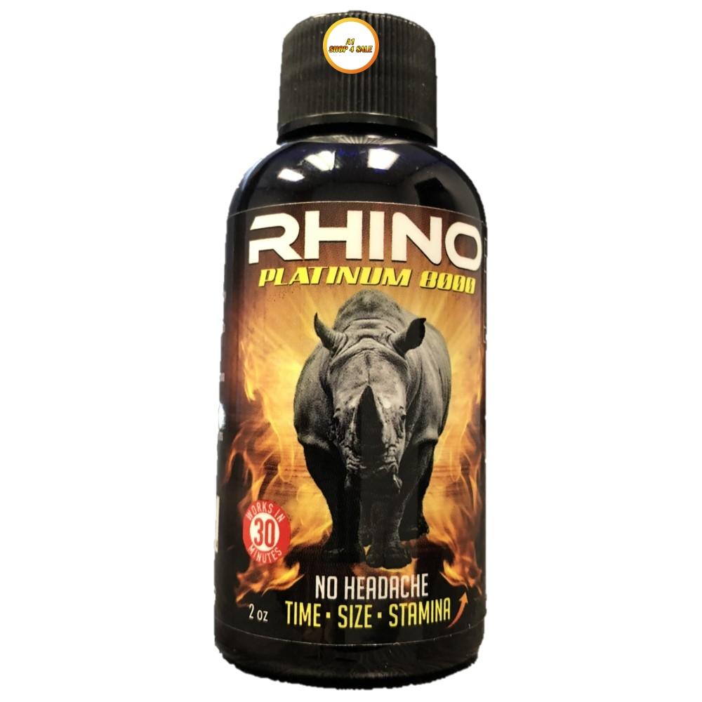 Rhino Platinum 8000 6 Shot Pack