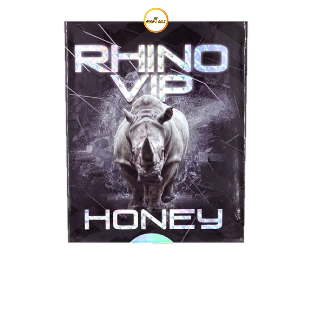 Rhino Vip Honey 5 Sachet Pack
