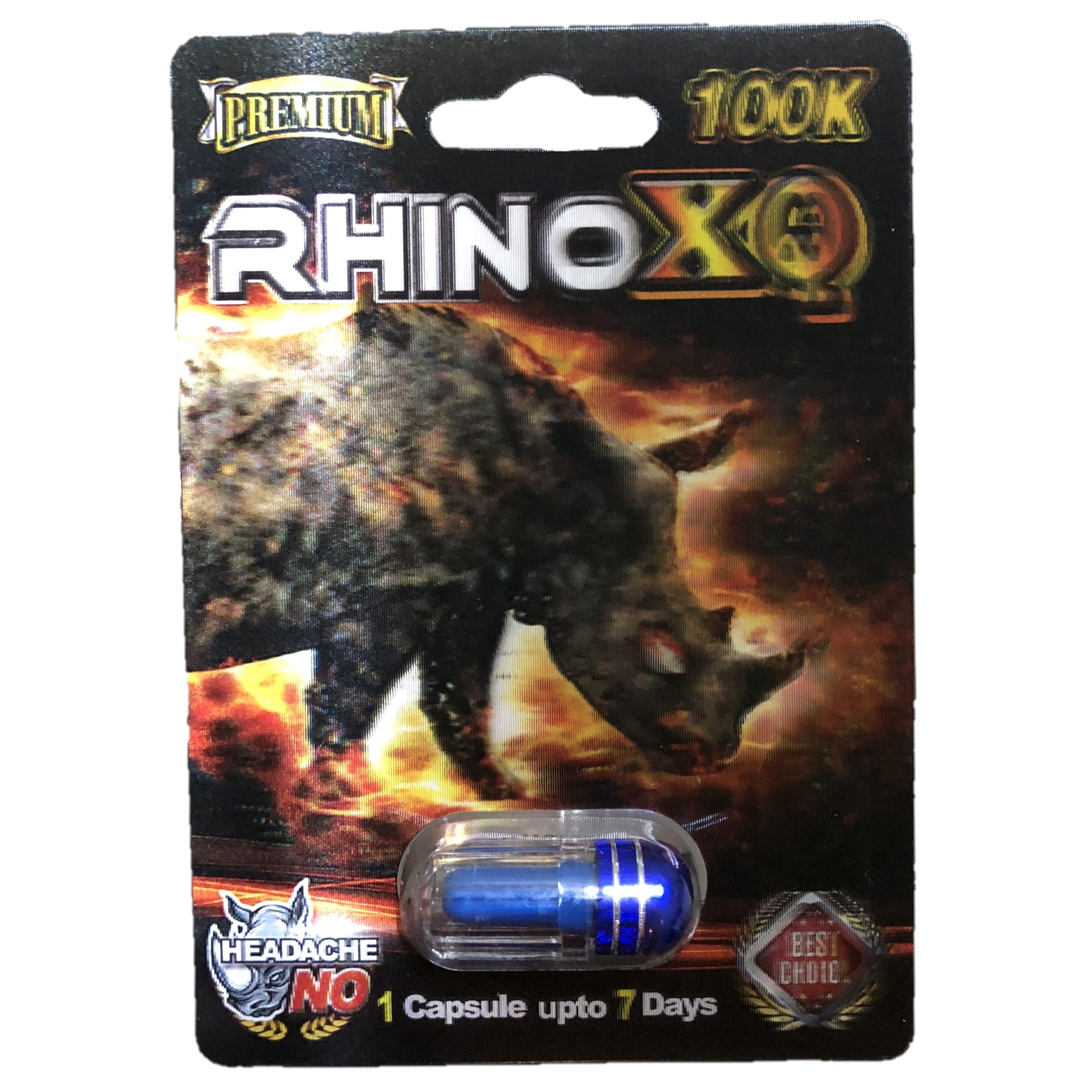 Rhino XQ 100K 5 Pill Pack